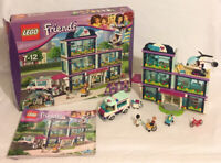 Lego Friends 41318 Heartlake Hospital 2017 Box Instructions  *99% Complete*