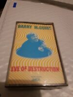 BARRY McGUIRE - EVE OF DESTRUCTION (cassette) New and Sealed
