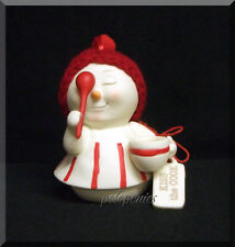 Dept 56 Snowpinions Kiss the Cook Ornament Nwt