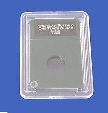 Premier Slab Coin Holder 1/10 Tenth Oz Gold Platinum Eagle w/Labels New Design!