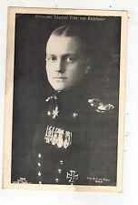 Mint WW 1 Germany Manfred Von Richthofen Luftwaffe Fighter Pilot Ace Postcard