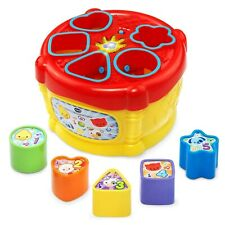 VTech Baby Sort and Discover Drum - Brand New - Free Postage