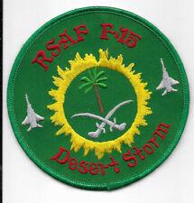 RSAF F-15 Desert Storm Squadron Patch