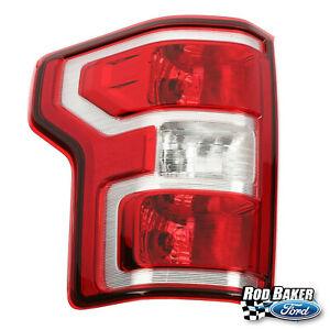 18 thru 20 Ford F-150 OEM Genuine LH Driver Side Rear Tail Lamp Light w/ Bulbs