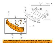KIA OEM 03-04 Spectra Rear Bumper-Cover 0K2SC50220XX