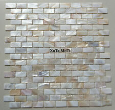 hot brick mother of pearl shell mosaic kitchen shower bathroom decotation tile