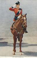 AK Queen Elisabeth II von England auf Pferd   21/3/16