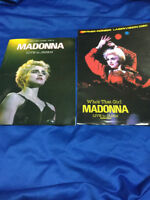 Madonna Live in Japan Dreams come true book not for sale item with promo flyer