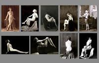 HUGE Erotic Nude Flapper PHOTO Lot,1920s Albert Arthur Allen,Ziegfeld Sexy Girls
