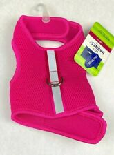 Top Paw Vest Soft Harness Neon Pink Reflective Adjustable Padded Mesh XSmall