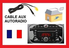 Cable auxiliar para conectar ipod ipad iphone autorradio FIAT punto evo 2010