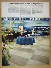1969 Kentile Asbestos Tile Rhodes Department Store Phoenix AZ vintage print Ad