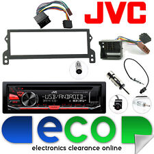 BMW Mini R50 R52 R53 JVC CD MP3 Tuner USB Aux Car Stereo Fascia Fitting Kit