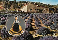VALLAZUR'- GRASSE - Carte Parfumée de luxe - Fragonard - Poupée provençale -