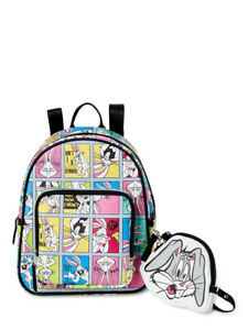 Looney Tunes  Bugs Bunny Mini Backpack & Coin Purse Set by Loungefly - New, With