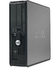 Dell Optiplex Ordinateur Pc de Bureau Intel Core 2 Quad 4gb Ram 250gb HDD