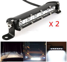 2 x18W Cree Slim LED Work Light Bar Offroad Spot Fog ATV SUV Driving Lamp 7 inch