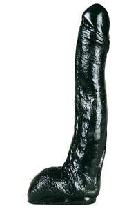Gros Gode XXL All Black Belgo-Prism Noir Silicone 28.5 x 5.5 cm
