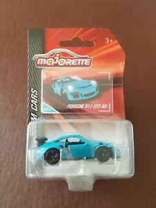 Majorette Premium Cars - Porsche 911 GT3 RS in Light Blue - BNIP - Carded.