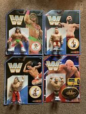 Mattel Retro Figure Collection MOC WWF Wcw Ecw Hasbro Wrestling