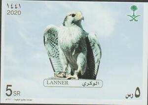 Saudi Arabia Falcons Miniature Sheet 2020 MNH