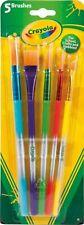 Crayola Assorted Paint Brushes 5 Pack Crayola Paintbrush Creative Fun 3+