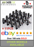 21 Minifigures Black Dark Knights Red Dragon Army - LE GO Compatible