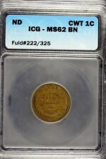 N/D The Federal Union Army & Navy Civil War Token! #B11847