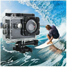 Full HD 1080P DV Waterproof Sport Camera Helmet Bike Action DVR Cam Video Black
