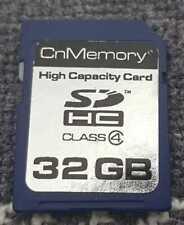 CnMemory SD HC Class 4 Karte 32 GB 3 DS  / WII / WIIU