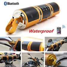 Waterproof Bluetooth MP3 FM Motorcycle Audio Radio Sound System Stereo Speaker
