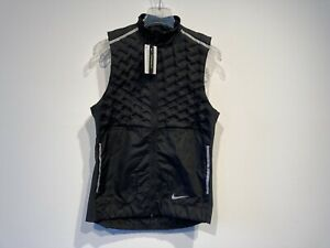 Nike Aeroloft Running Vest XL Laufweste Weste Mens Gilet Men Herren Jacke Jacket