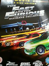 The Fast And The Furious Collection 1-3 (DVD, 2008, 4-Disc Set, Box Set)