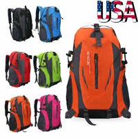 40L Waterproof Backpack Travel Rucksack Outdoor Hiking Camping Daypack Sport Bag
