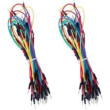 130pcs Solderless Flexible Breadboard Jumper Wires Male To For Arduino Ampamp