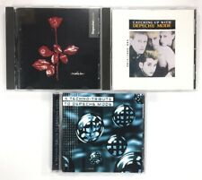 Depeche Mode - 3 Cd Lot - Violator, Catching Up With, A Techno-Tribute To