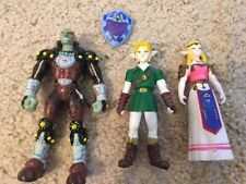 The Legend Of Zelda Ocarina Of Time N64 Collectible Action Figure Set
