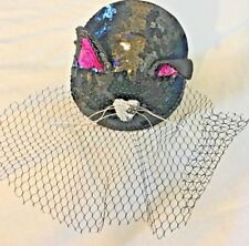 Kitty Cat Ears~Costume Accessory~Claire's Hair Band Hat~One Size~Fascinator~NEW