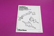 Wheel Horse Outdoor Power Equipment Manuals & Guides