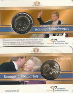Nederland 2014 BU Coincard 2 euro - Koningsdubbelportret (6)