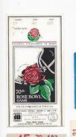 1984 Rose Bowl college football ticket Illinois Fighting Illini v UCLA Bruins