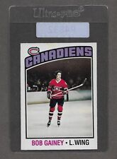 ** 1976-77 OPC Bob Gainey #44 (NM-MT) Hockey Card Set Break ** P4832