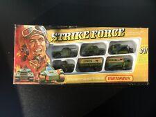 Matchbox Gift Set G11 Strike Force Neuwertig unbespielt Nr.2