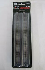 "N Scale Kato Single Track Straight Viaduct 248mm 9 3/4"" 20-400, 2pcs"
