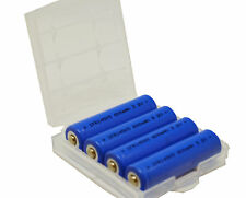 4er Pack LiFePO 4 batteries 600 mAh 3,2 V AA 14500 14505 Solaire Lampes langanhaltend