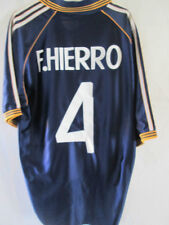 Real Madrid F.Hierro 4 Third 1998-1999 Football Shirt Size Large  /34812