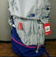 The North Face Hiking Backpack Fovero 70 XS/ S $289 Frame Gray Blue Technical