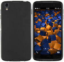 mumbi Hülle für Blackberry DTEK50 Schutzhülle Case Tasche Cover Schwarz