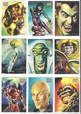 1996 96 MARVEL MASTERPIECES  Single Cards  $8.89  each