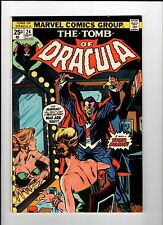 Marvel TOMB OF DRACULA #24 Blade Appearance 1974 VF Vintage Comic